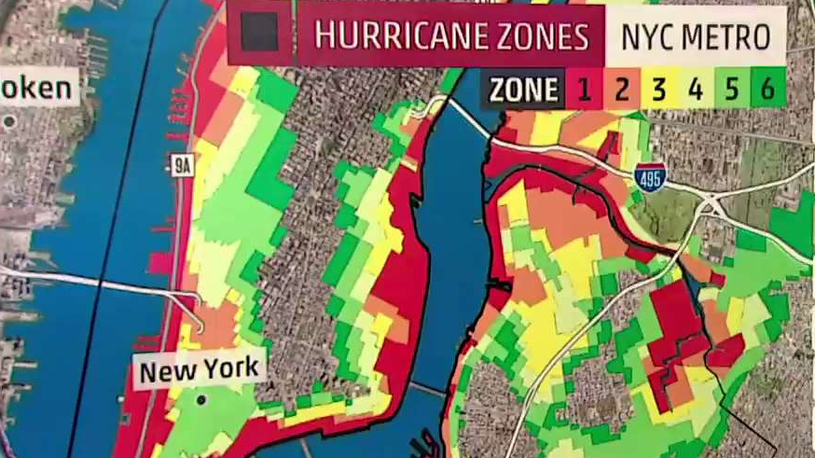 New York City has Changed their Hurricane Zones