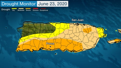 Severe Drought in Puerto Rico Prompts State of Emergency, Water Rationing |  The Weather Channel