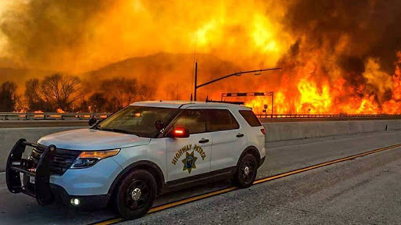 Tens of Thousands Flee as Massive California Wildfire Burns Out of Control