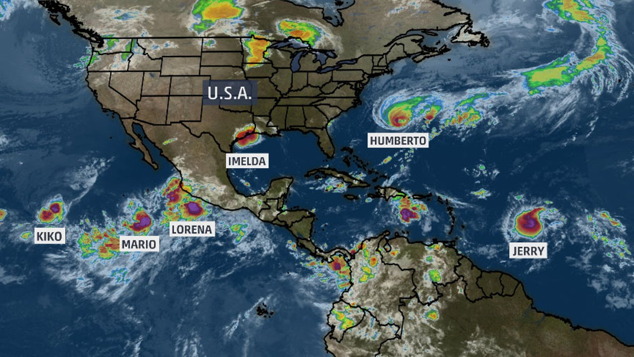 """They're forming like roaches,"" tweeted NHC forecaster"