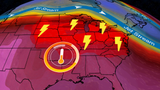 Warm, Stormy Pattern Continues