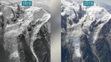 Before and After Images Show Staggering Ice Loss on Mont Blanc