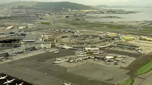 San Francisco Building Wall to Protect Airport from Rising Sea Level