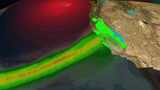 Record Breaking Storm Possible for California into Monday