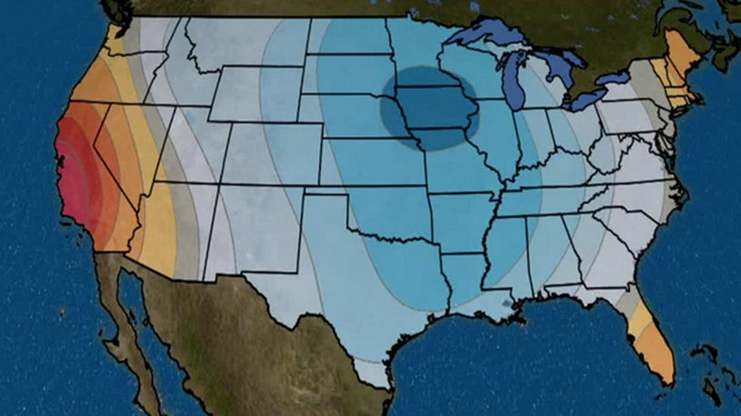 Chilly Temperatures Forecast for Much of Country for Rest of October