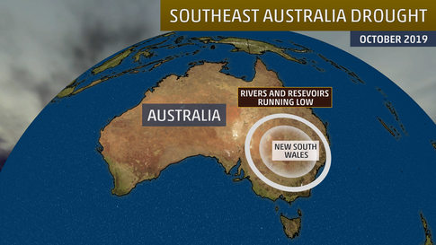 Australia's Worsening Drought: Key Waterways Run Dry as Thirsty Towns Search for New Sources