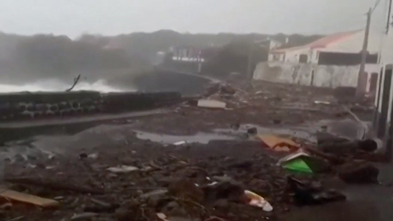 Post-Tropical Lorenzo Heads Toward Europe After Assaulting Azores Islands
