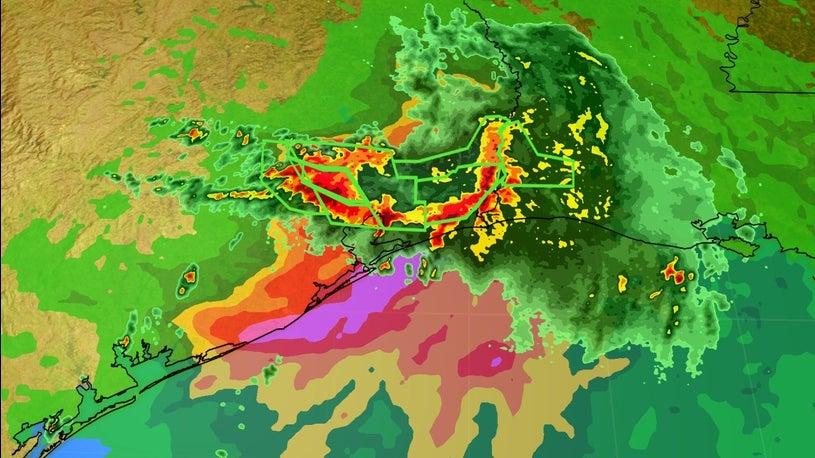 Roads Underwater, Rescues Underway as Imelda Continues to Dump Rain on Texas