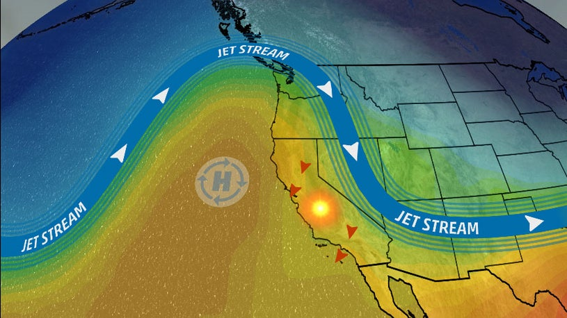 Californians on Edge as Delayed Rain Could Prolong Wildfire Season