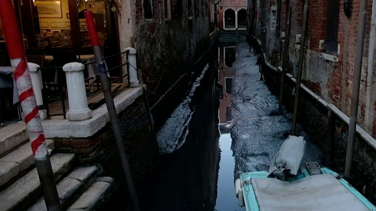 Venice Canals Run Low 2 Months After Historic Flooding