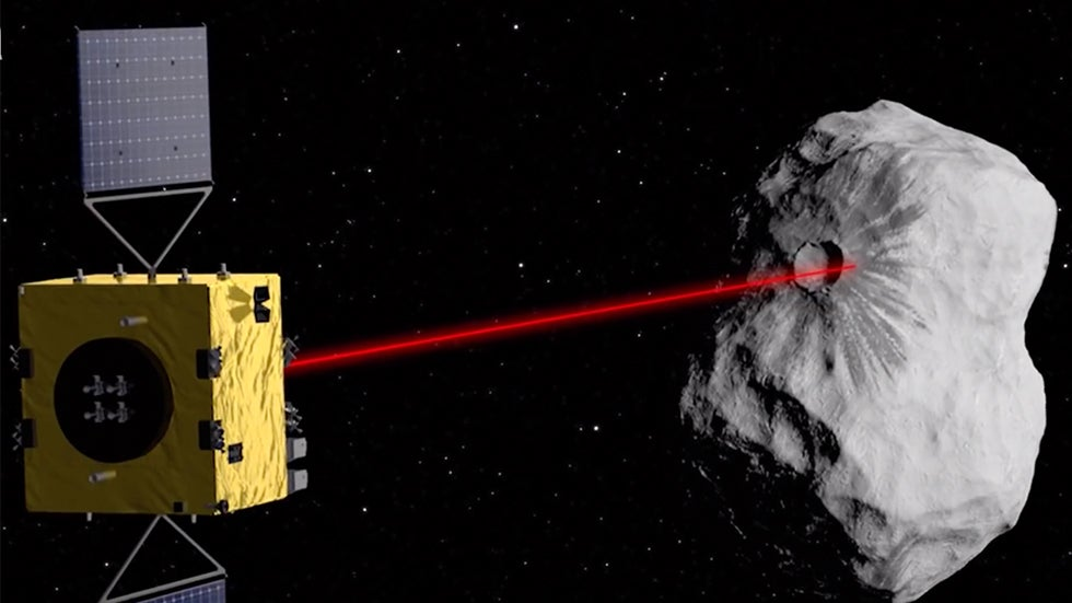 NASA to Ram Spacecraft into Asteroid in Planetary Defense Test