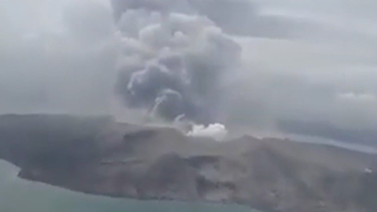 Taal Volcano Sends Out Ominous New Sign