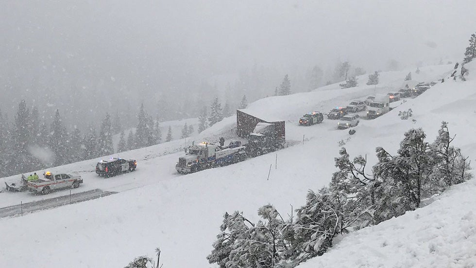 California Storms Leave at Least 6 Dead