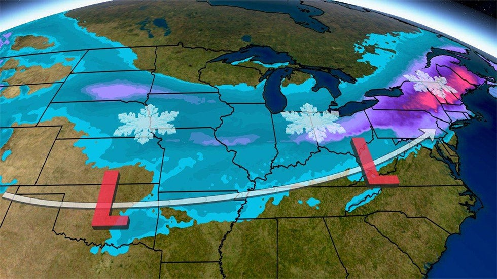 Powerful Winter Storm Harper Set to Move Across the Country