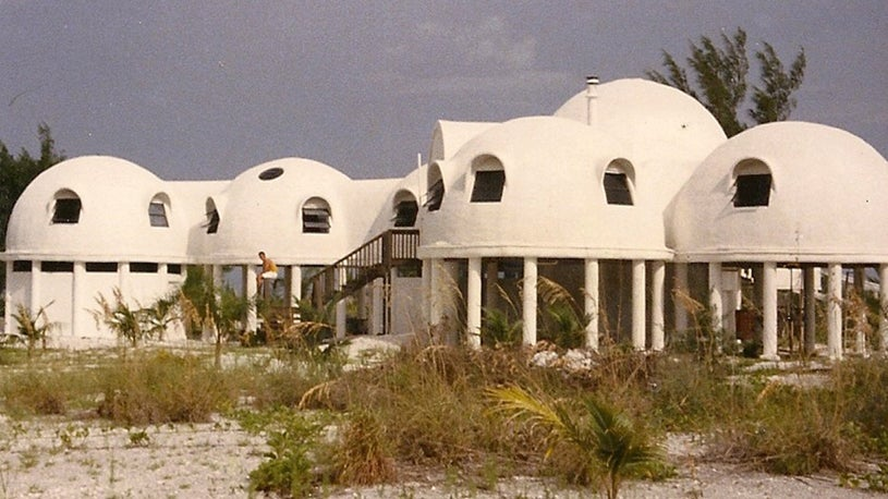 Florida's Mysterious Dome Home Sinking Into the Sea
