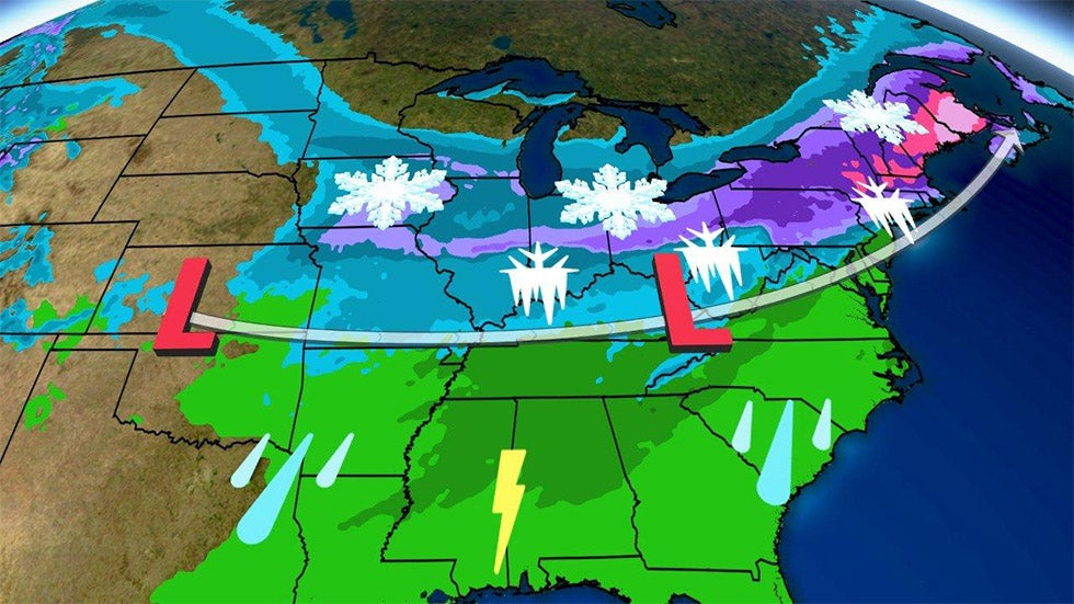 Big Snow Totals Possible from Winter Storm Harper