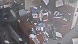 Security Cameras Capture Moment Tornado Rips Through School