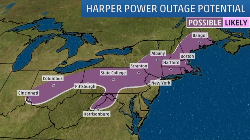 If You Live Here, Prepare for Possible Outages