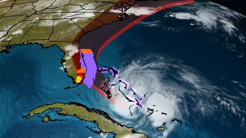 Hurricane Isaias Place Sights on U.S. Hover