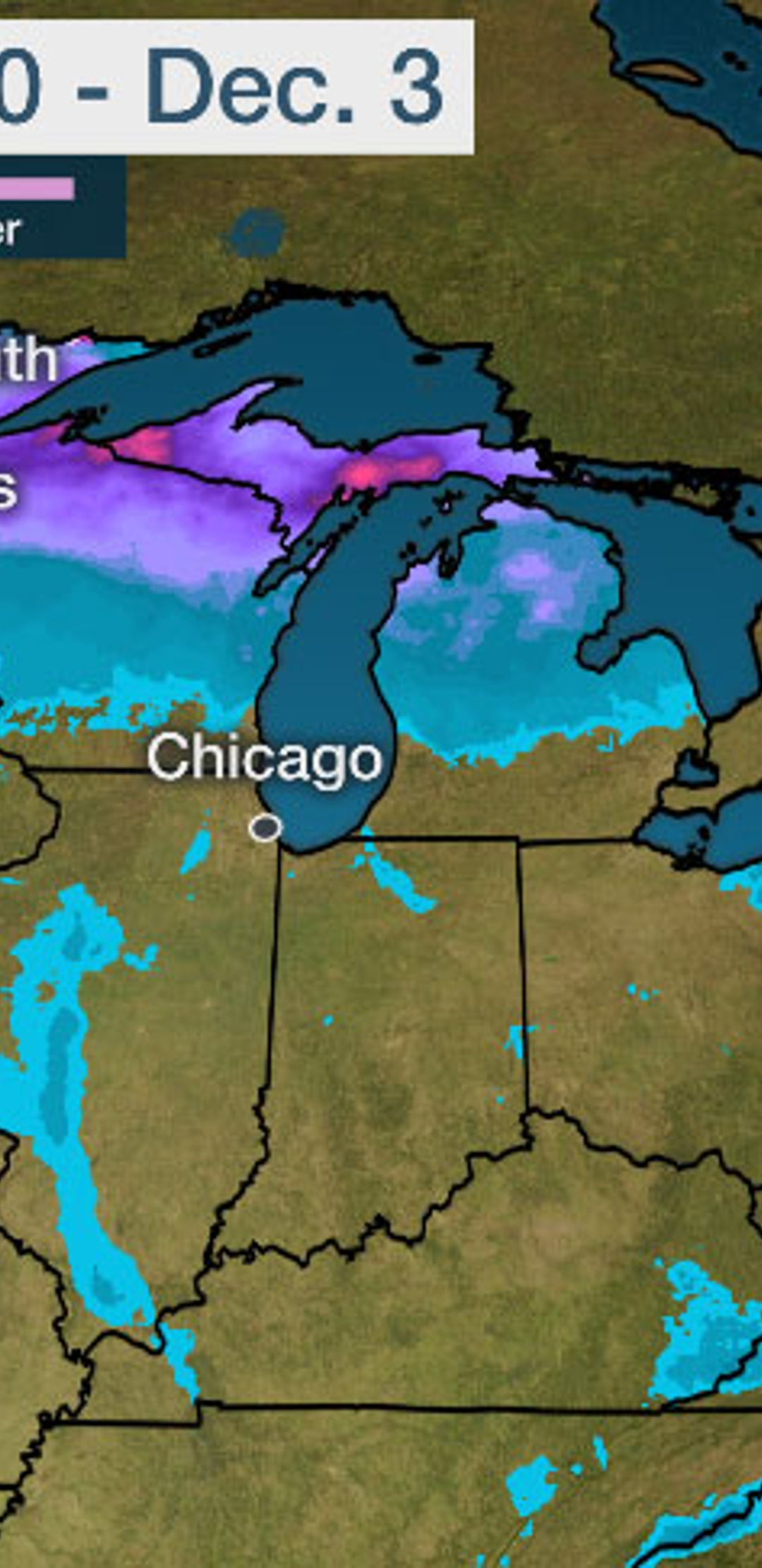 Cross Country Winter Storm Brought Snow Ice And Wind Thanksgiving Week Into Early December Recap The Weather Channel Articles From The Weather Channel Weather Com