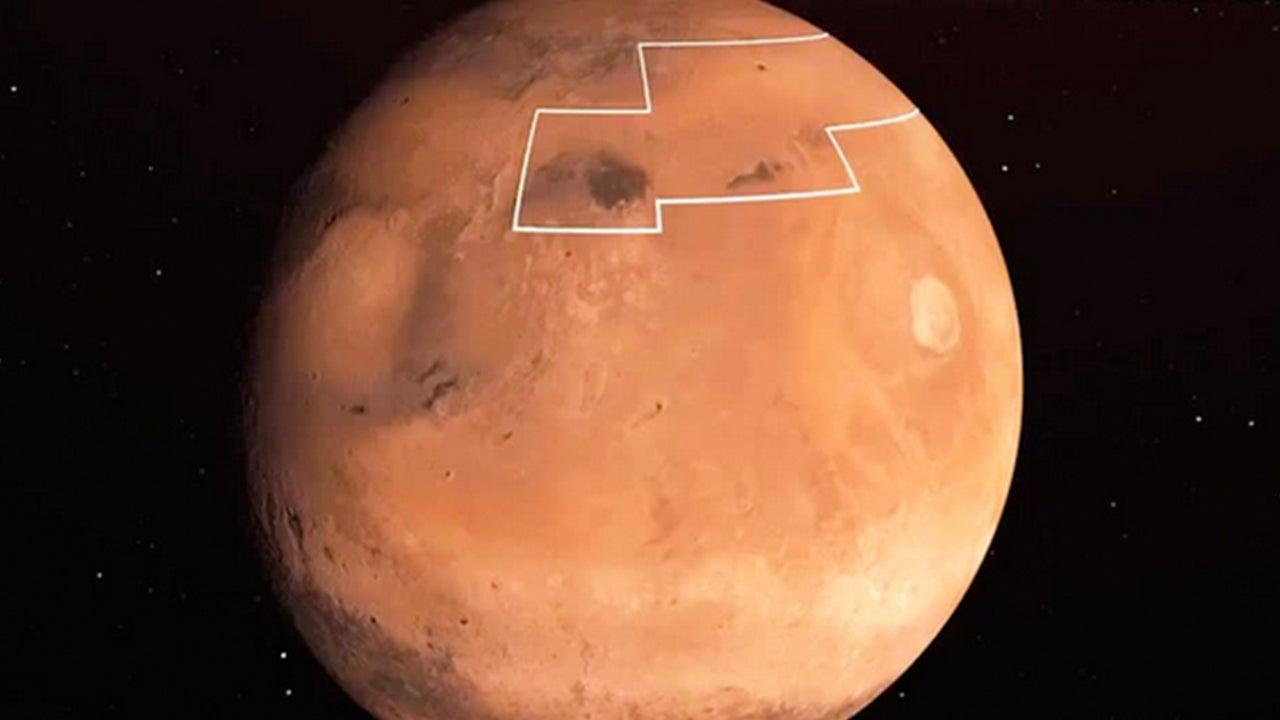 NASA's Treasure Map to Water on Mars Could Help Future Astronauts