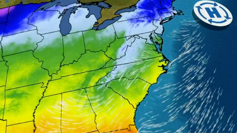 How a 'Wedge' and 'Cold Air Damming' Affect Winter Temperatures