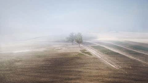 Lithuanian photographer Martynas Charevičius went from using a regular camera to a drone and the results are stunning. He prefers to shoot at sunrise or sunset and one of his favorite photo elements includes fog. (Martynas Charevičius)