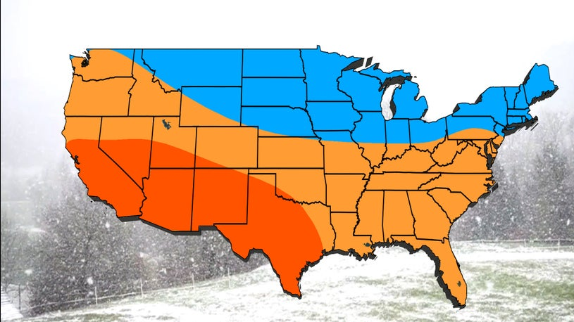 Noaa Winter Forecast 2020 2021.The Weather Channel