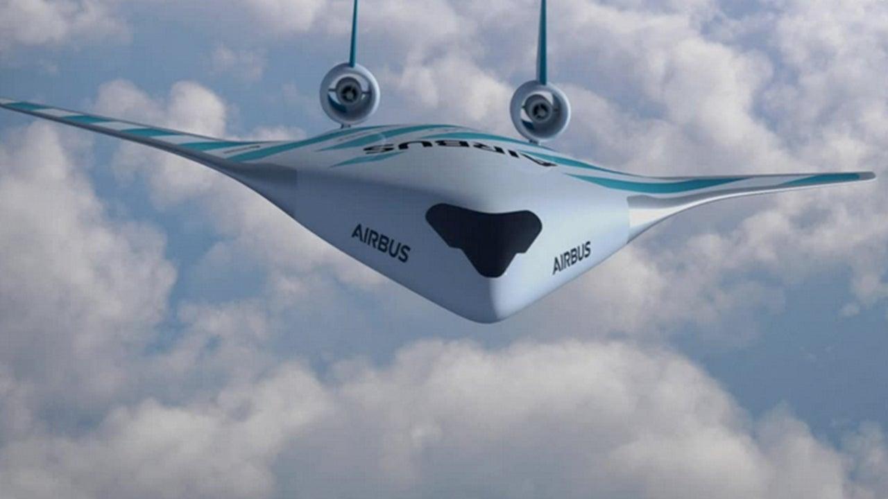 Airbus Reveals Futuristic, Fuel-Efficient Aircraft Design