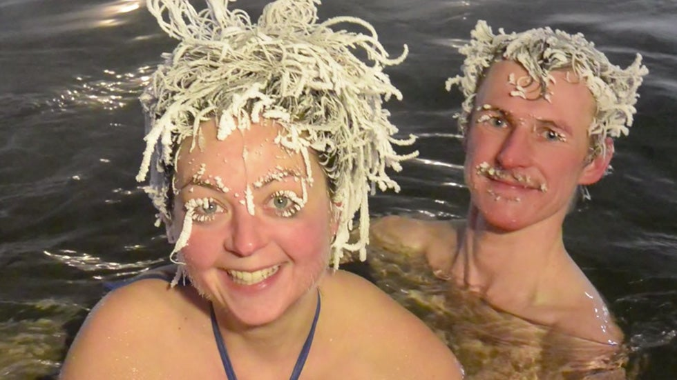 Canada's International Hair Freezing Contest Is in Full Swing