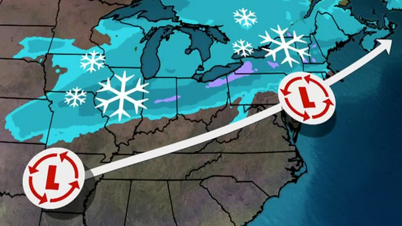 Winter Storm Forecast to Bring Snow From Midwest to New England