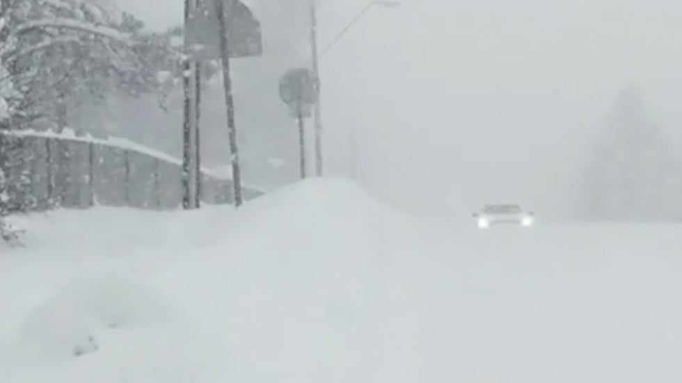 Winter Storm Quiana Dumps Heavy Snow in Southwest