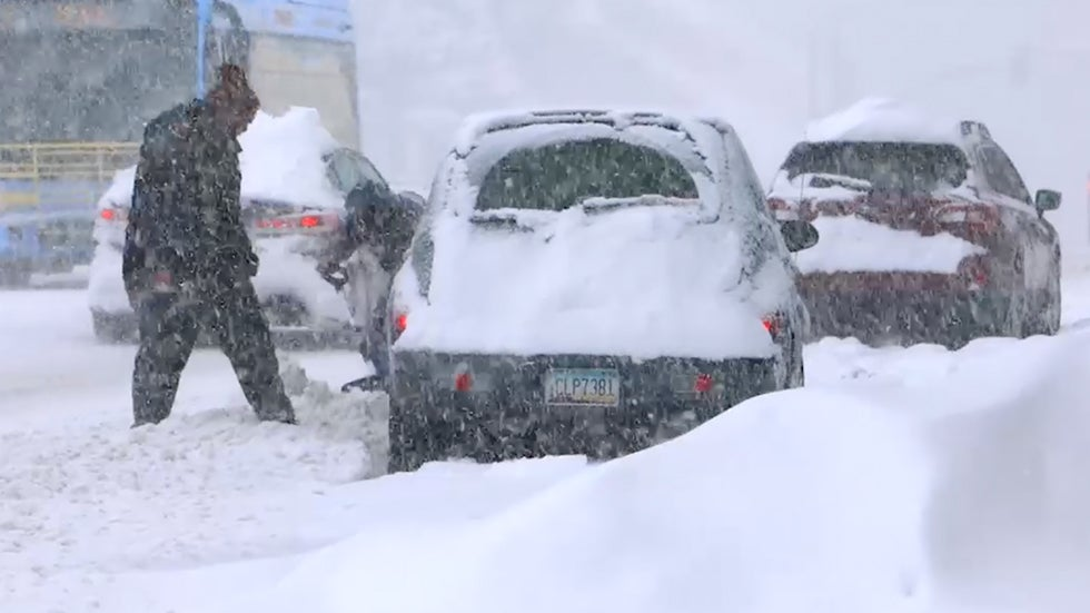 "Disaster Emergency Declared; Over 35"" of Snow in One Day"