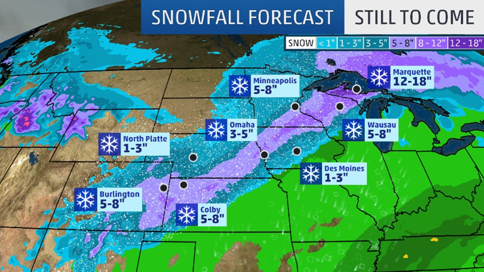 Forecast: Heavy Snow, Blizzard Conditions Likely