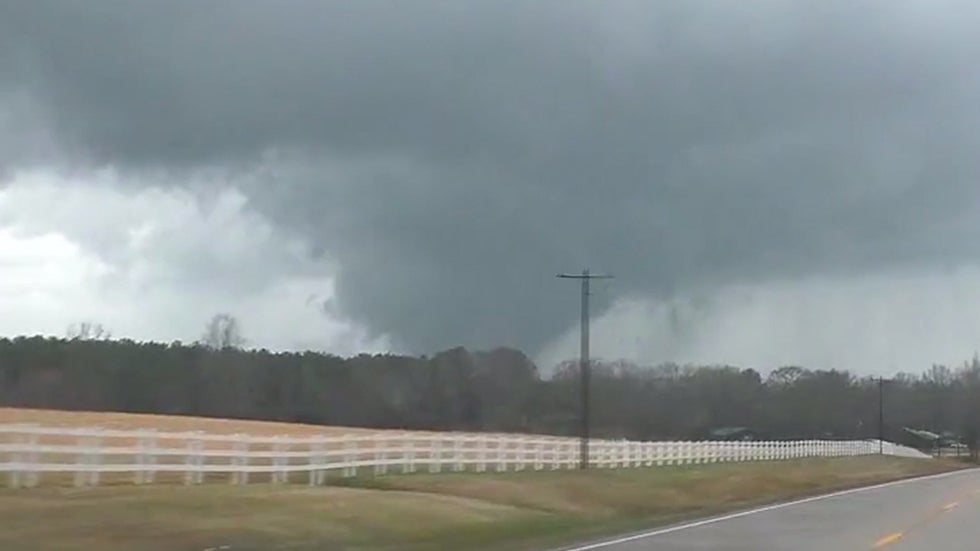 Southern Storms Spawn Tornadoes