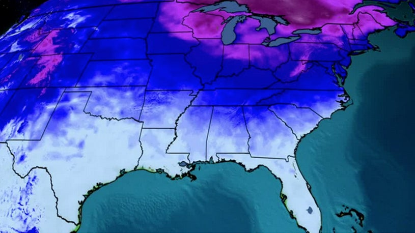 Cold Temperatures in East a Reminder It's Still Winter