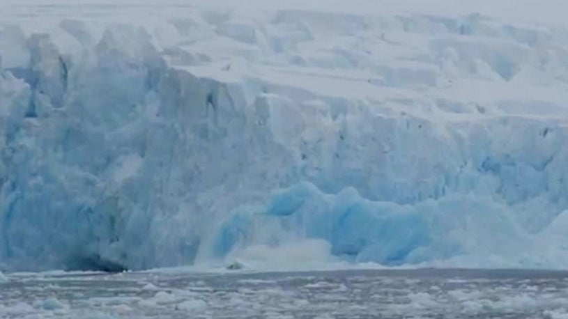 New Iceberg Forms in Antarctica as Slab Breaks off Glacier