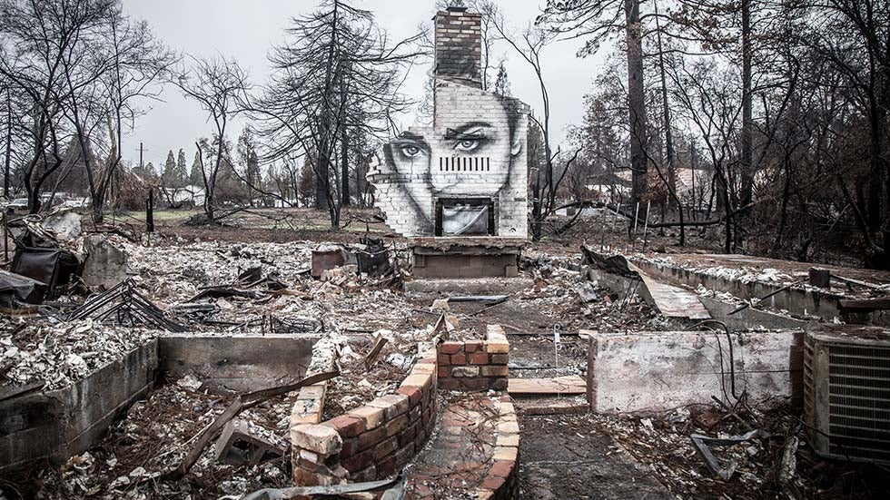Portraits of Hope Rise From California Ashes