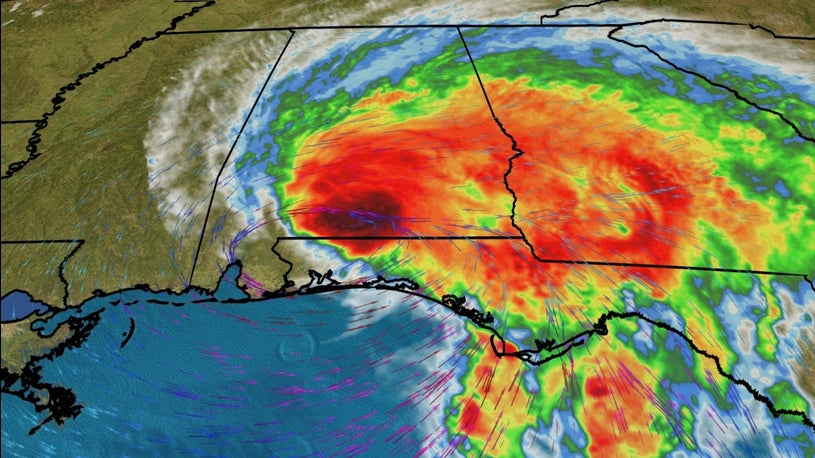 Tropical Storm Sally Lashing Florida, Alabama With Flooding Rain, Storm Surge and Damaging Winds After Making Landfall (weather.com)