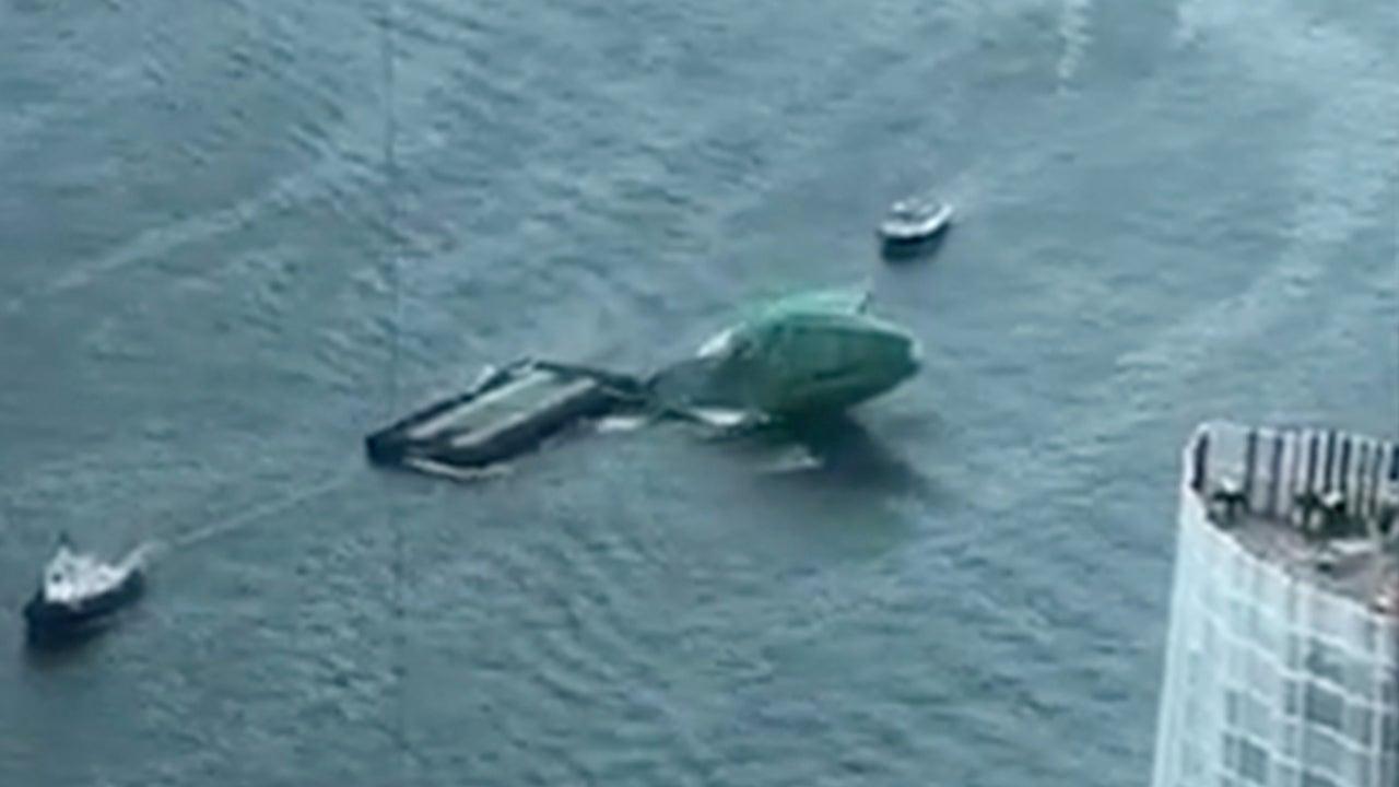 Giant 'Cucumber' Bursts Open During Sydney Harbor Stunt