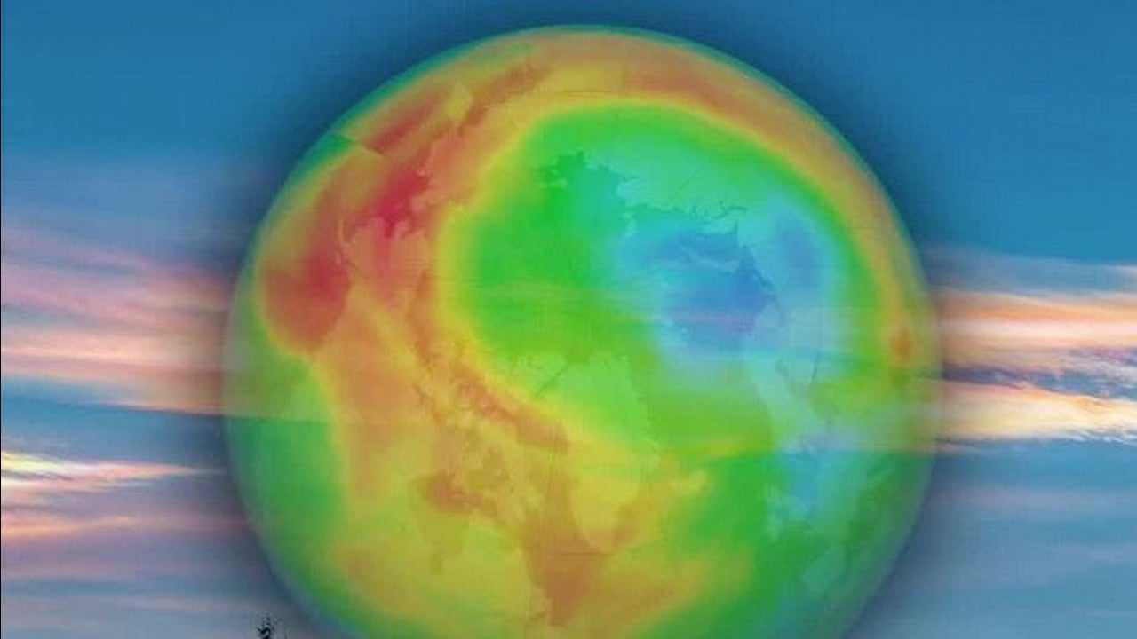 Possible Record-Breaking Hole in the Ozone
