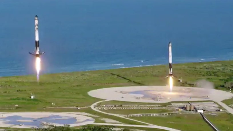 Watch SpaceX Stick Its Landings