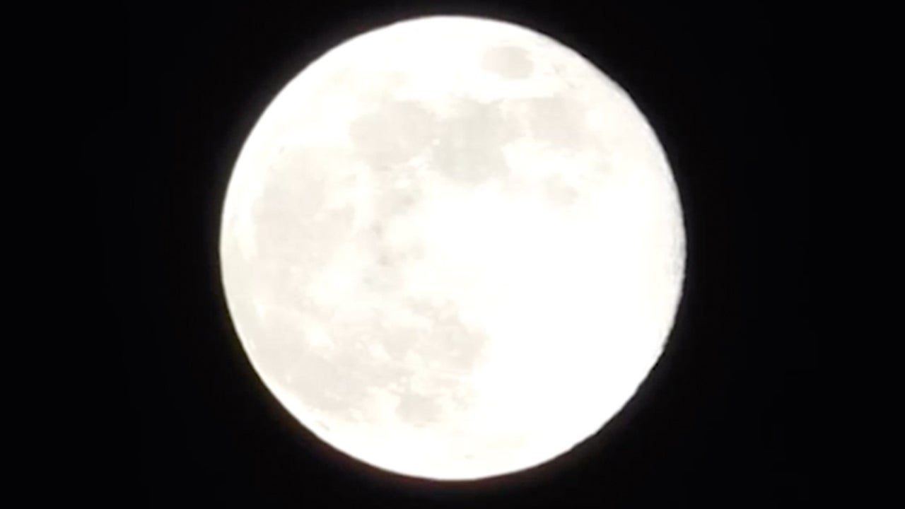 'Thunder Moon' Coincides with Partial Lunar Eclipse