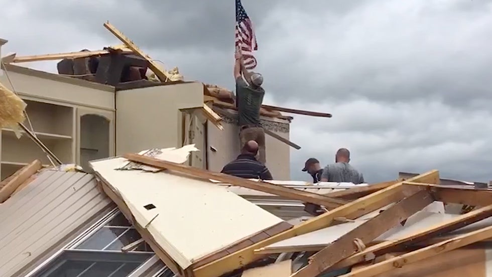 Deadly Storms Produce Damage and Flooding for the South