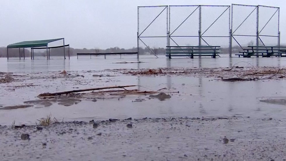 Rain and Melting Snow Causing Major Flooding Issues