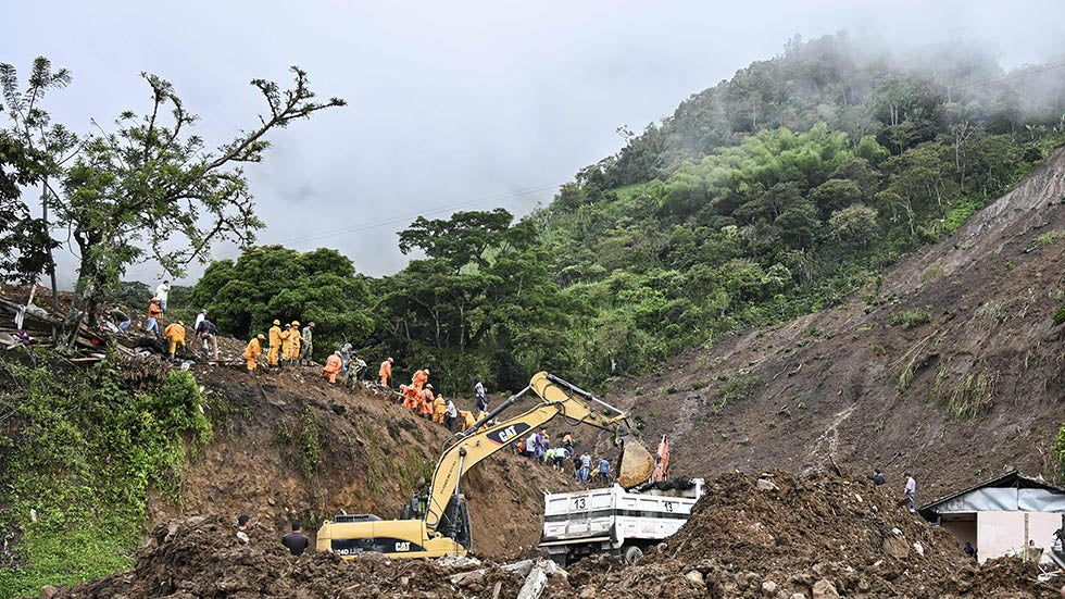 Landslide Kills At Least 17 in Rural Colombian Community