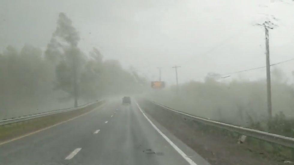 Watch Paramedics' Terrifying Drive Through EF3 Tornado in Virginia