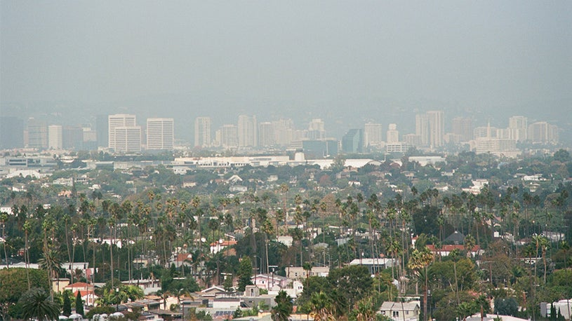 Los Angeles Reigns as Country's Smoggiest City
