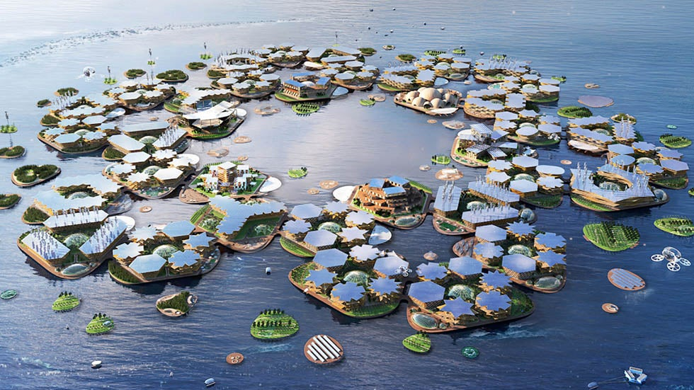 United Nations a Fan of This Floating City