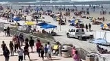 Beaches Packed on Memorial Day Weekend Amid Pandemic